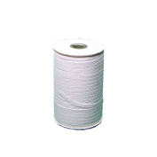 Braided Elastic 1cm Wide 144 Yards-White