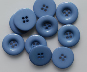 Lyracces Resin Coat Suit Dyed Large Big Edge Flatback Sewing Fasteners Buttons 30mm 1.18in 10pcs