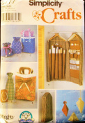 Simplicity 5777 Crafts Sewing Pattern, Gift Wrap Organiser, Gift Bags and Boxes
