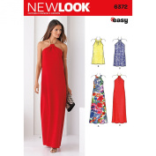 NEW LOOK 6372 Misses' Dresses Each in Two Lengths Sewing Kit, Size A