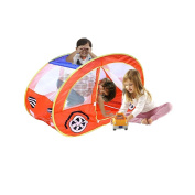 Toy Cubby Pretend and Play Pop-up Car Tent