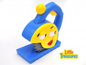 Little Treasures Junior Deluxe Play Tool creative ideas cartoon circular saw play set toy