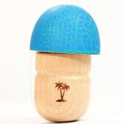 Bahama Kendama Mushroom Pill Kendama- Reverse Spike - Blue Over Green