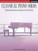 Classical Piano Solos - Fourth Grade