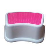 Kids Best Friend Girls Pink Stool, Ideal Gift, Take It Along in Bedroom, Kitchen, Bathroom and Living Room.