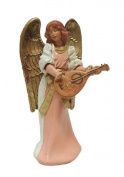Exclusive Fontanini 13cm Eva Angel With Mandolin Signed Nativity Figurine #75532S