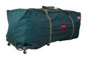Tree Keeper Rolling Tree Duffel-Style Bag and Stand Kit - Artificial Tree Storage System