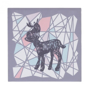 Lolli Living Sparrow Canvas Art, Deer Silhouette