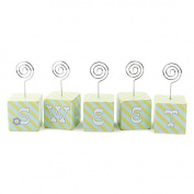 Alphabet Block Nursery Photo Holders