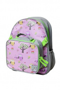 Backpack and Lunch Box Set for Kids, Owls