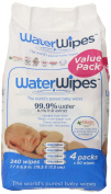 WaterWipes Baby Wipes - Unscented - 240 ct