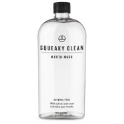 Squeaky Clean Mouthwash 470ml Mint Oral Mouth Rinse Treatment for Bad Breath