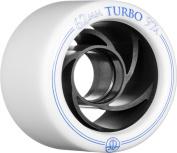Rollerbones Turbo 97A Speed/Derby Wheels with an Aluminium Hub