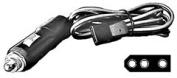 Procomm 3-Pin Heavy-Duty Power Cord W/ Dc Plug