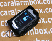 Black Leather Case for Viper 7944V Remote Systems