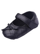 YICHUN Baby Girls Dress Shoes Party Shoes Prewalker Leisure Shoes Crib Soft Shoes Bowknot