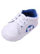 YICHUN Baby Boys Shoes Prewalker Shoes Football Crib Leisure Shoes Soft Shoes Casual Sneaker