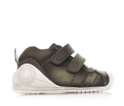 BIOMECANICS - White and grey used-look shoes, made of natural leather,child,baby,boy,boys