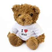 NEW - I LOVE NIALL - Teddy Bear - Cute And Cuddly - Gift Present Birthday Xmas Valentine