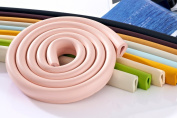 2 metre U-Shape Edge Protector Premium Foam Cushion Table Edge Corner Guards Protectors Edge Guards in pink by Design61