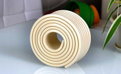 2 metre Edge Protector Premium Foam Cushion Table Edge Corner Guards Protectors Edge Guards in beige by Design61