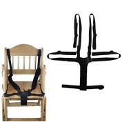 Homgaty Baby Children Kid Stroller Pram Buggy Chair Safe Belt Strap Infant Belt 5 Safe Points
