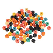 Beauty7 100Pcs Mix Colourful Rubber Grommets Nipples for Machine Needles Tattoo Supplies