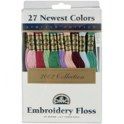 DMC 117F25-NP27 Embroidery Limited Edition Floss Pack, Assorted Colour, 8.7-Yard, 27/Pack