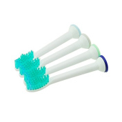 Denshine Personal Professional 12pcs New Replacement Brush Heads For Philips Sonicare ProResults HX6014 Toothbrush Clinic & Home