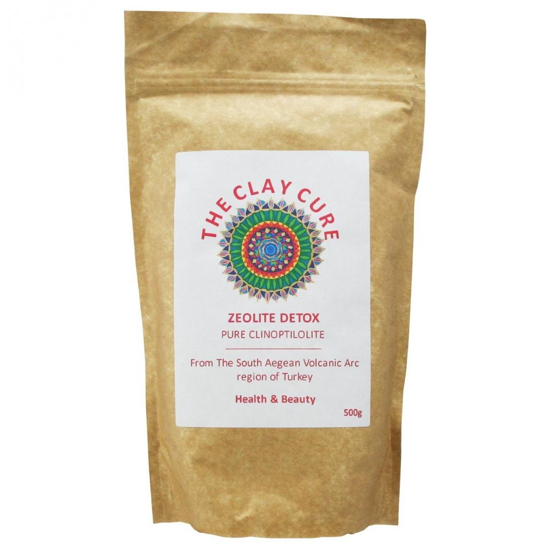 Zeolite Detox - 500g Pure Clinoptilolite - Internal or External Use