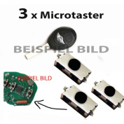 For Mini one / cooper / s R50 R53 Microtaster Mikrotaster button remote control key
