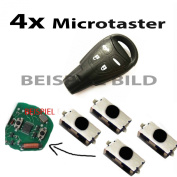 For Saab 9-3 Microtaster Mikrotaster button remote control key