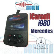 OBD2 Diagnostic - Mercedes Benz - iCarsoft i980 - Tool Case