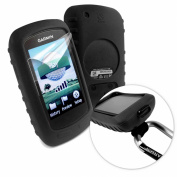 Tuff-Luv Silicone Gel Skin Case & Screen Cover for Garmin Golf Approach G6 / G7 - Black