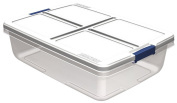 Hefty Plastic 32.2l. Hefty Clear Storage Container 7103HFT-10-111-44