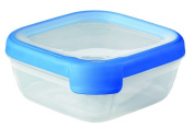 Curver 00013-082-00 Square Storage Container New Grand Chef Bottle 0,75 Litres transparent Blue