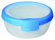 Curver 00021-082-00 Round Container New Grand Chef 0.7 L transparent / Blue