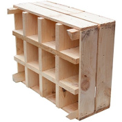 New Sturdy Box for Bottle Rack + + + Natural