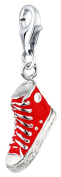 Chucks Nenalina Charm Pendant in 925 Sterling Silver finish triple loop carrier 714022-003 for all standard