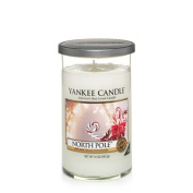 Yankee Candle North Pole Medium Perfect Pillar Candle, Festive Scent