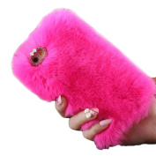 Iphone 6S Plus TOOPOOT®Warm Fluffy Villi Fur Plush Wool Bling Cover For Apple IPhone 6S Plus
