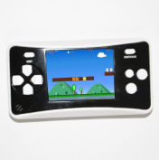 Handheld Game Console w/ Speaker / Built-in 152Games - Blue + White (256M / 3 x AAA)
