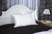 Taihu Snow Silk 100% 19 Momme Charmeuse Silk Pillowcase With Cotton underside 50 x 75 cm