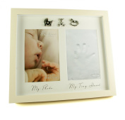 Baby Hand Print Plaster Cast Kit & Photo frame
