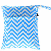 Damero Cute Travel Baby Wet and Dry Cloth Nappy Organiser Tote Bag