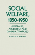 Social Welfare, 1850-1950
