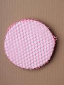 Small Pink Mesh Bun Net, for child / girl. Ballet / dance class hair accessory