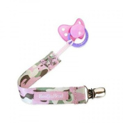 Booginhead Pacifier Leash - Pink Camo