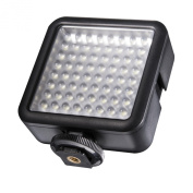 walimex Pro LED Video Light with 64 LED for GoPro and DSLR Camera