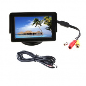 Akhan M02 11cm TFT Colour Monitor for VCD DVD GPS Reversing Camera